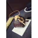 Fashion Personalized Triangle Shape Printed Top Handle Crossbody bag 15*15*17 CM