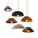 Dining Table Bowl Shade Pendant Light Ceramics 1 Lights Asian Stylish Hanging Light
