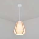 Asian Stylish Pearl Pendant Light Fabric One Light White Ceiling Pendant for Restaurant Hotel