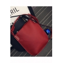 Minimalist Solid Color Multipurpose School Shoulder Bag Shopping Tote 24*1*30 CM