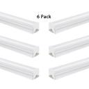 Warm White/White Lighting LED Fluorescent Light 1/6 Pack Aluminum Waterproof 47 Inch T5 Integrated Linear Light for Shop