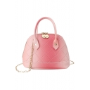 Stylish Ombre Color Diamond Check Quilted Satchel Handbag For Women 18*6*13 CM