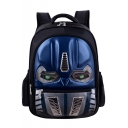 Popular Fashion Cosplay Robot Pattern School Bag Backpack for Students 33*14*43 CM