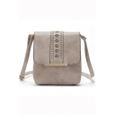 Popular Floral Hollow Out PU Leather Crossbody Messenger Bag 20.5*5*23 CM