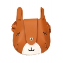 Cute Cartoon Rabbit Pattern Mini Crossbody Wallet for Kids 13*2*13 CM