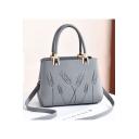Women's Elegant Printed Commuter Shoulder Handbag 27*13*19 CM