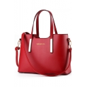 Simple Fashion Letter Printed Large Capacity Laptop Tote Handbag 33*13.5*23 CM