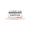 Designer Trendy Newspaper Pattern White Crossbody Bag with Chain Strap 22*0.5*14 CM