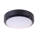 Slim Panel Ceiling Lamp Bathroom Sound Activated & Dusk to Dawn Sensor/Radar Sensor LED Flush Ceiling Light with White/Yellow Lighting