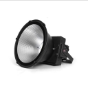 Commercial Dome Rotatable Bay Lighting Aluminum 300W Black LED Warehouse Light for Retail Space Factory