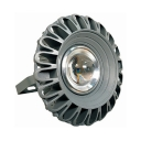 100W Round LED High Bay Light Commercial Aluminum Warehouse Light with Heat Sink for Stadium