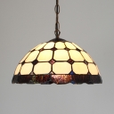 Shop Grid Dome Shade Ceiling Pendant Glass 12