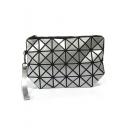 Hot Fashion Geometric Diamond Pattern Patent Leather Clutch Bag 24.5*16 CM