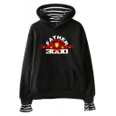 New Fashion Father's Day Iron Figure Letter FATHER I LOVE YOU 3000 Fake Two-Piece Casual Hoodie