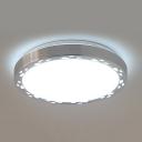 Warm/White Lighting LED Ceiling Light with Teardrop Aluminum Flush Light for Living Room