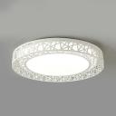 Acrylic Nest LED Ceiling Mount Light Hotel Motion Sensor/Radar Sensor/Sound Activated Flush Light