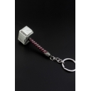 Popular Film Hammer Shaped Car Pendant Key Ring