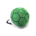 Cute Fashion Turtle Shell Shape Green Plush Backpack 33*28 CM