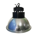 Aluminum Dome LED High Bay Light 150W Waterproof Hanging Lamp in Black/Silver for Stadium