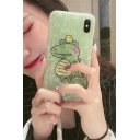 New Stylish Cute Cartoon Green Frog Printed Mobile Phone Case for iPhone