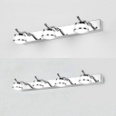 3/4 Lights Urn Vanity Light Chrome Stainless Steel LED Sconce Light in Warm/White for Bedroom