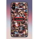 Popular FRIENDS TV Character Pattern Soft Case Mobile Phone Case for iPhone