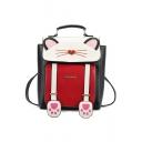Lovely Cartoon Cat Shaped Handbag School Backpack 25*9*26 CM