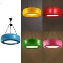 Creative Car Type Pendant Light Acrylic & Rubber Suspension Light for Restaurant Cafe