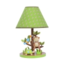 Resin Monkey & Bird Desk Lamp Study Room 1 Light Animal Reading Light with Plug In Cord