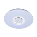 Round Dining Room Flushmout 36W Acrylic APP Control 19.5 Inch LED Ceiling Mount Light