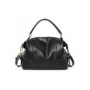 Minimalist Solid Color Large Capacity Large Tote Bag Shoulder Handbag 34*15*28 CM