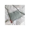 Cool Fashion Denim Shoulder Crossbody Bag 20*18*1 CM
