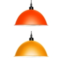 Nordic Stylish Hanging Light Dome Shade 1 Light Metal Suspension Light for Restaurant Shop