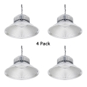 1/4 Pack Cone Gallery High Bay Lighting Waterproof 100W High Brightness LED Ceiling Light