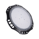 100/150W Slim UFO Bay Lighting Aluminum Super Bright Black LED Hanging Lamp for Showroom Stadium