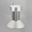1/2 Pack Aluminum COB Bay Light with Heat Sink 200W LED Hanging Lamp for Gym Showroom
