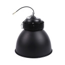 150W Domed High Bay Light Aluminum 1 Head Black LED Bay Lighting for Gallery Supermarket