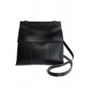 Minimalist Solid Color Crossbody Shoulder Bag 22*12*23 CM