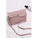 Minimalist Solid Color Long Strap crossbody Phone Purse 18*4*14 CM