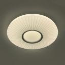 Bedroom Slim Panel LED Ceiling Light Acrylic 24/36W Warm/White/Stepless Dimming Flush Mount Light
