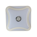 Acrylic Square LED Flush Light Fixture Smart Phone Voice Control RGB Ceiling Light for Bedroom