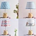 Resin Animal LED Desk Light Baby Bedroom Single Light Lovely Eye-Caring Reading Light