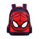 Hot Fashion Red Spider Web Printed Waterproof Backpack School Bag for Juniors 32*18*43 CM