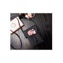 Fashion Flower Tassel Decoration Long Strap Crossbody Cell Phone Purse 12*2*18 CM