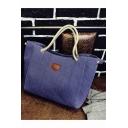 Designer Plain Large Capacity Utility Shoulder Tote Bag 31*11*27 CM