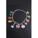 Popular Creative Comic Hero Combination Bracelet