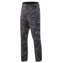 Guys Popular Fashion Cool Camouflage Printed Zipped Pocket Outdoor Waterproof Keep Warm Gore-trousers Hiking Pants