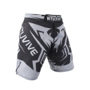 Men's Professional Letter Printed Boxing Shorts