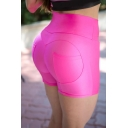 Hot Popular Womens Pocket Back Simple Plain Sexy Skinny Fit Sport Bum Lift Shorts