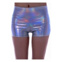 Womens Cool Sexy Metallic Color Night Club Hot Pants Dance Skinny Shorts